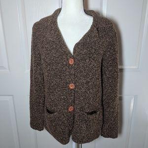 Modern Soul button down cardigan sweater Medium